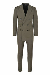 Tom Ford Suit Menand039s 46 R Khaki Regular Fit One Color