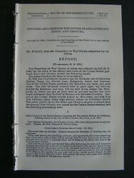 Government Report 1896 Officers And Crews Of The U.s. Gunboats Kineo And Chocura