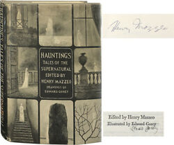 Henry Mazzeo / Hauntings Tales Of The Supernatural Signed 1968