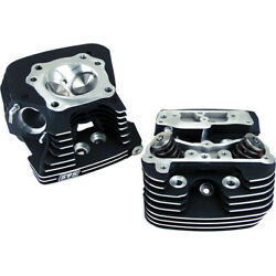 Sands Cycle 106-3240 Super Stock Heads 89cc Black Harley Flhr 1584 Road King 2007