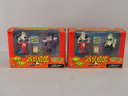 Nos 1998 Exclusive Underdog Limited Ed Figure Sets Riff Raff And Simon Barsinister