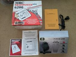 Mrc Trainpower 6200 For Ho To G Scale Transformer Silver New Box Tested And Works