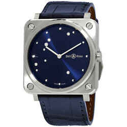 Bell And Ross Blue Diamond Eagle Midnight Blue Dial Quartz Ladies Watch