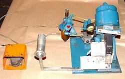 Ettco Air Operated Cut-off And Crimper Cut-off Press, Foot Pedal Actuated