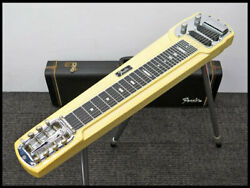 Fender Deluxe 8 String Steel Electric Guitar With Hard Case Shipped From Japan