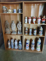 Steins Pint Glasses And Assorted Breweriana Over 1000 Items