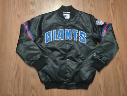 Nwt New York Giants Starter Jacket Size Medium Packer Shoes Exclusive