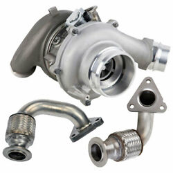Turbo W/ Charge Pipe Kit For Ford F350 F450 F550 Super Duty 6.7l Powerstroke