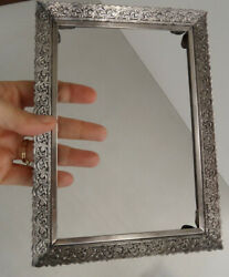 Antique Sterling Silver Signed Spritzer And Fuhrmann Danish Denmark Picture Frame