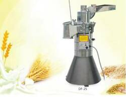 New 25kg/h Automatic Continuous Hammer Mill Herb Grinder Df-25 Pulverizer 110v