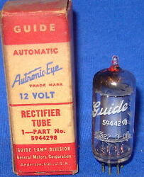 Nos Nib Guide Autronic Eye Rectifier Part Number 5944298 12v