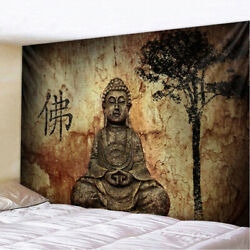 BUDDHA MEDITATION WALL HANGING TAPESTRY HOME DECORATION HIPPIE BOHEMIAN TAPESTRY