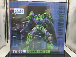 Toyworld Tw-c07g Weathered Color Constructor Devastator 🇺🇸 Priority Shipping