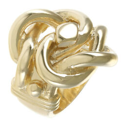 Solid 9ct Yellow Gold Heavyweight Extra Large Knot Ring Rrp Andpound2720 Br9_a ...