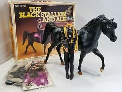 Vintage 1981, Rare, The Black Stallion And Alec, Horse And Accessories No. 3000
