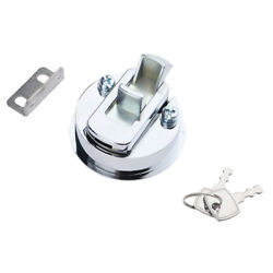 Boat Hatch Slam Latch Cabinet Lift Pull Ring Locking -marine Stainless Steel