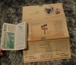Farm-oyl Note Book And Winter-izing Guide For Tractor Ad St. Paul Minn. - Oil Ad