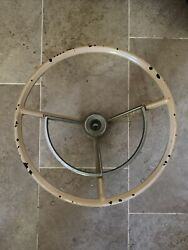 1967-1972 Ford Truck F100 F250 Steering Wheel W/horn Ring 1960-1963 Falcon.