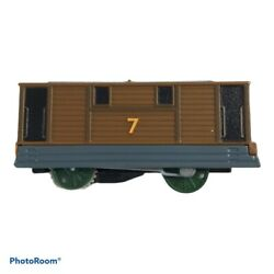 TOMY TRACKMASTER THOMAS amp; FRIENDS quot; TOBY quot; MOTORIZED WORKING 2013 FREE S H