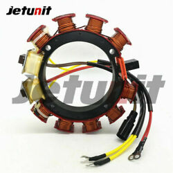For Johnson Evinrude Outboard Stator 35amp 583561 1988-1999 120-140hp 2.0l4/8cyl