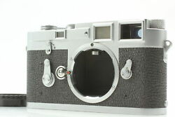 [near Mint] Leica M3 Double Stroke Ds Rangefinder 35mm Film Camera From Japan