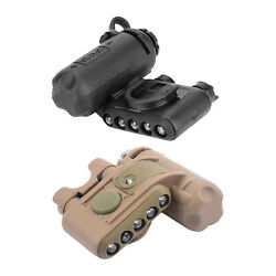 Tactical Helmet Flashlight Torch Led Iff Signal Lights Molle Vest Attached