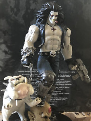 dc Comics Lobo Super Hero Collection Special Hand Painted Figure Japan Shipped