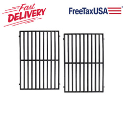 Matte Cast Iron Cooking Grid Grates 16.5 2-pack For Kenmore Vermont Castings