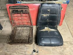 1969 Dodge Charger Bucket Seat Pair 1968 Plymouth Gtx Seats B-body Right Left 69