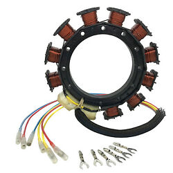 For Mercury/mariner 8778a16 8778a6 30-125hp Outboard Stator 9amp 2stroke 1987-97