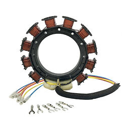 8778a27 For Mercury/mariner 40hp-125hp Outboard Stator 9-amp 2-stroke 1987-1997