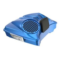 Electric Blue Dual 8and039and039 Speaker Lids Fits Advanblack/harley Razor Tour Pak Pack