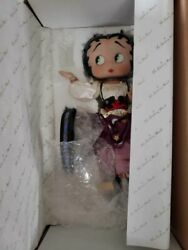 Mystic Betty Boop Porcelain Doll 15 With Stand And Box Danbury Mint