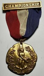 Sterling 1962 New England Amateur Athletic Association Union Medal-free Us Ship