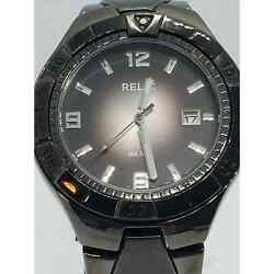 Relic By Fossil Zr11811 Stainless Steel Men's Analog Gunmetal Dial Genuine Watch
