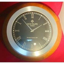 Super Rare Patek Philippe Limited Edition Wall Clock Beauty Goods Novelty Used