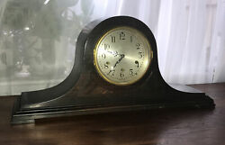 Antique Seth Thomas Westminster Chime Mantle Clock, No. 124, Made In Usa,oxford