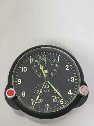 Former Soviet Mig-29 Fighter-equipped Panel Clock Aviation Clock Achs-1 Military