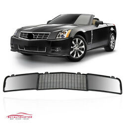 Fits 2004-2008 Cadillac Xlr Front Bumper Lower Grille Matte Black New Gm