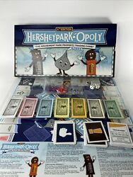 Hersheypark-opoly Amusement Park Property Trading Game Monopoly 4th Edition