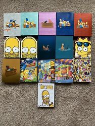 The Simpsons Dvd Lot Seasons 1-10, 11, 12, 13, 20 And The Simpsons Movie