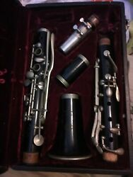 Rampone Brevettato Clarinet1703 And Case.beleive Made In Milan Italy 1910 To 1930