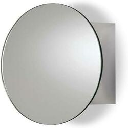 Mirror Medicine Cabinet Wall Mounted Tay Oval Stainless Steel Durable Bathroom D