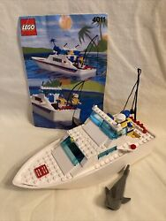 Vintage Lego 4011 Cabin Cruiser With Instructions No Box