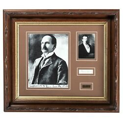 Frank James - Rare Ink Signature - American Outlaw And Brother To Jesse James