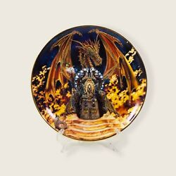 Mythical Dragon Fire Franklin Mint Royal Doulton 8andrdquo Plate Myles Pinkney