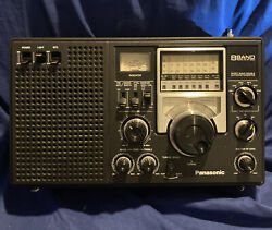 Vintage Panasonic Rf-2200 8 Band Rf2200 Am/fm Short Wave Radio As-is Parts Only