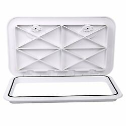 White Marine Boat Deck Access Hatch And Lid 24 In X 14 In Caravan/rv Storage