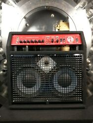 Swr Super Redhead Integrated Bass System Bass Combo Amp W/ Padded Cover