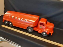 1950and039s Minnitoy - Texaco Tanker Truck Toy - Original
